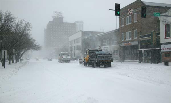 peoria snowstorm